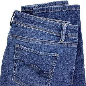 White House Black Market Stretch Ankle Jeans 6